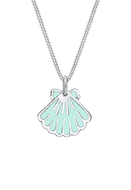 be08b1846296 Elli Collar con colgante Mujer plata - 0111561617 36  Amazon.es  Joyería
