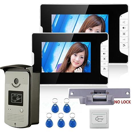 Amazon Mountainone 7 Color Video Door Phone Intercom System