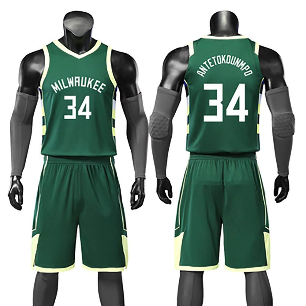 SHPP Milwaukee Bucks, Camiseta No. 34, Yannis Adeto Kunbo, 34 ...