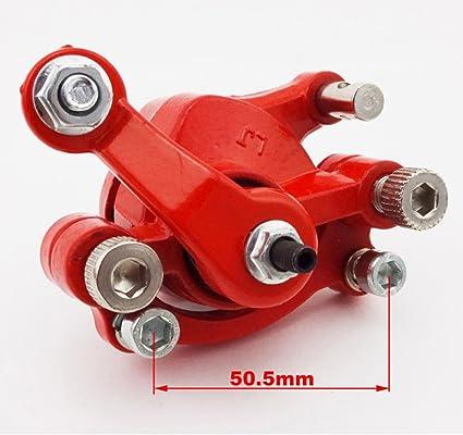 Stoneder Rotor Vorne Links Scheibenbremssattel 120 Mm Rotor Für 2 Takt Minimoto Go Kart Scooter Auto