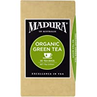 Madura Organic Green 50 Tea Bags, 1 x 75 g