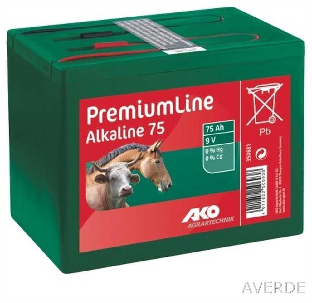 Pila alcalina Premium Line para Pastor 75 AH 9V 16,5 CM X 11CM X 11,4 CM: Amazon.es: Productos para mascotas
