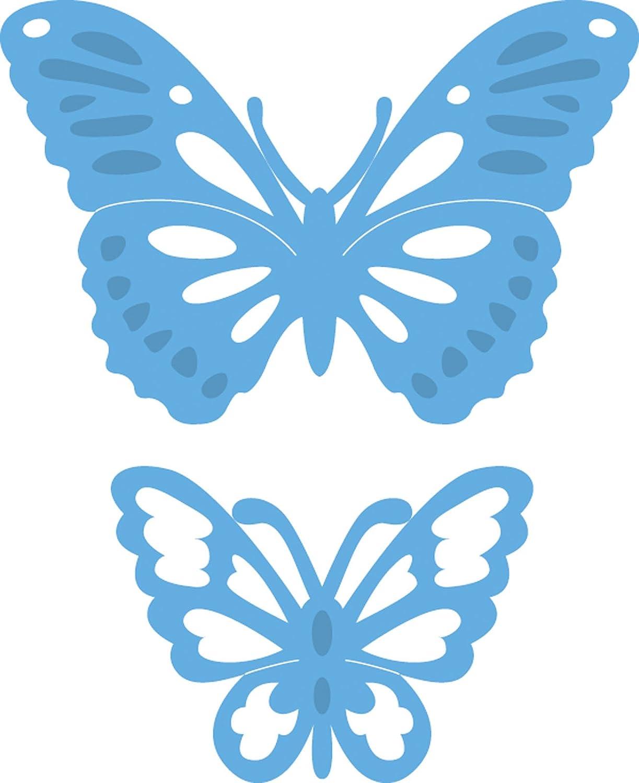 Blu Metal 5.1x3.5x0.4 cm Marianne Design Creatable Tinys Farfalle 2