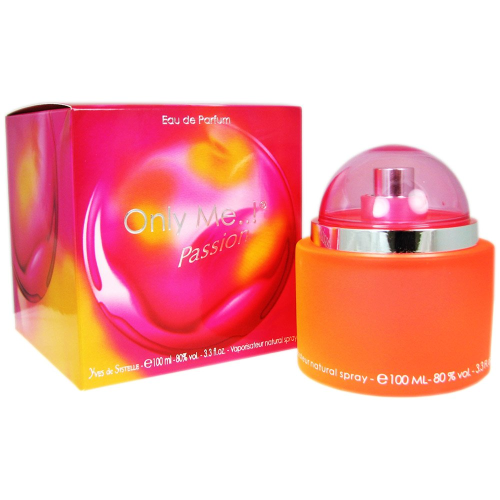 Yves de Sistelle Only Me Passion Eau De Parfum Spray, 3.3 Ounce
