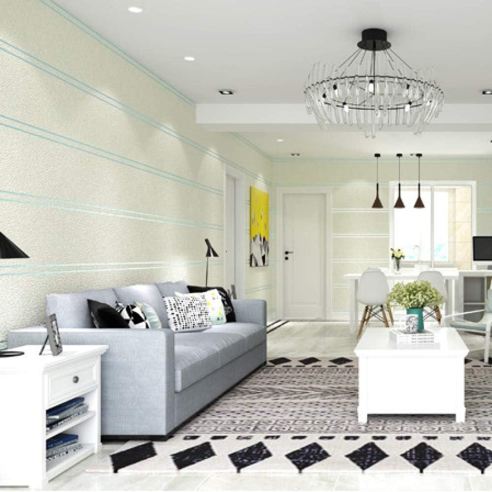 Mármol minimalista moderno papel tapiz a rayas dormitorio sala de ...