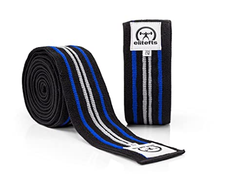 9647ab1fcf Image Unavailable. Image not available for. Color: EliteFTS LITE TRAINING KNEE  WRAPS ...