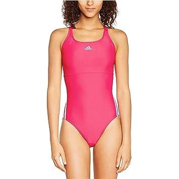 3ac9a98e0172 adidas Maillot de Bain pour Femme infinitex 3-Stripes  Amazon.fr ...