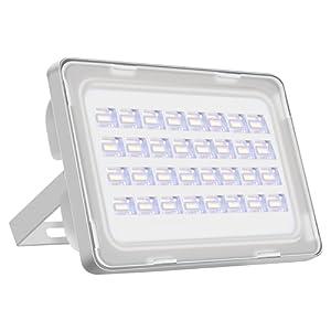 Viugreum¨ IP65 10W / 20W / 30W / 50W / 150W / 200W / 250W LED Projecteur Lumire - [Classe énergétique A++] - Blanc chaud ( 2800-3000K) et Blanc froid (6000-6500K)- 6F