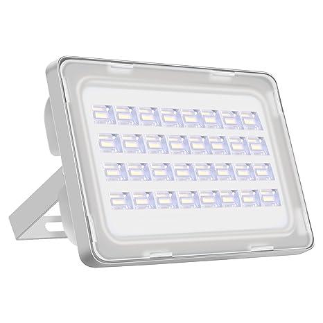 Viugreum Focos LED Exterior 100w IP65 Impermeable Proyector Reflector de Pared/Iluminación Exterior Blanco Frío