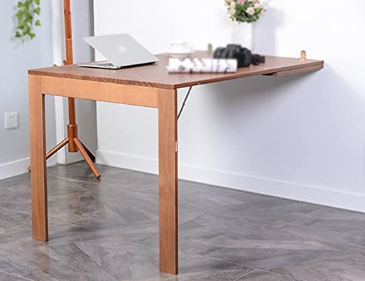 Folding table Mesa Plegable de Pared Sencilla contra la Mesa ...