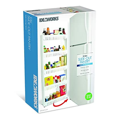 Merveilleux Slim Slide Out 5 Tier Storage Tower   Ideal In Your Kitchen, Bath