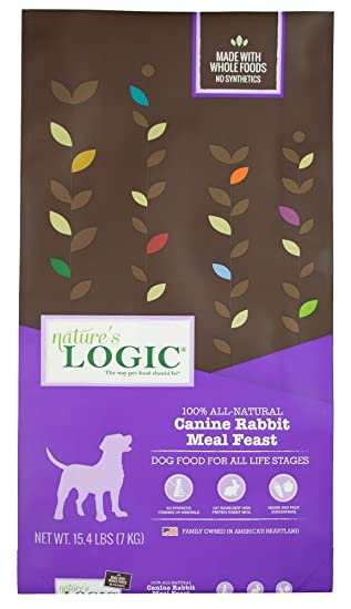 NatureS Logic Canine Rabbit Meal Feast, ...