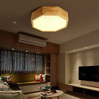 DengWu Lámpara de techo Geométrico simple LED lámpara de ...