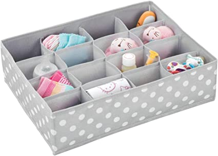 mDesign Caja de almacenaje para Habitaciones Infantiles o baños ...