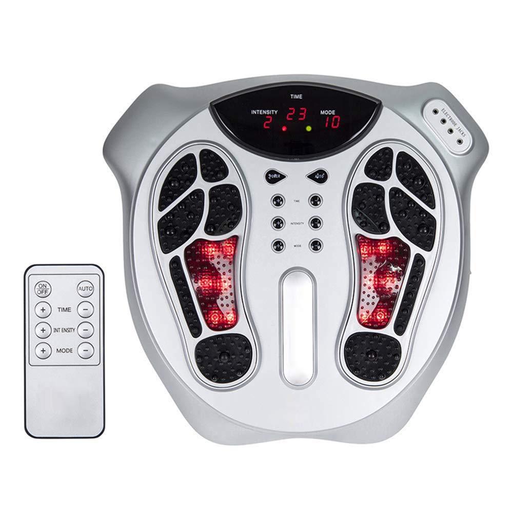 フィートの循環のマッサージ器ボディ療法機械99の種類の電磁波の強さ15のマッサージモードリモートコントロールは、痛みや痛みを和らげます B07PP1TVN8