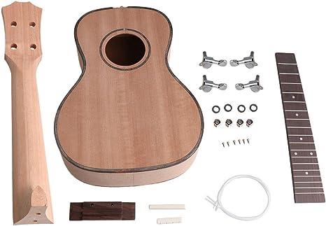 BQLZR - Kit de guitarra para ukelele de 58,4 cm con tuerca de ...