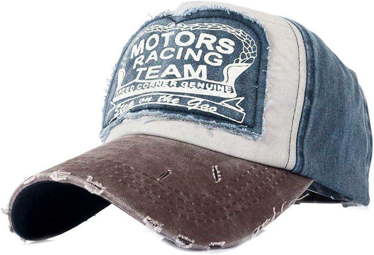 Casquette De Baseball R/étro Vintage Casquette Motors Young Styles Racing Moto Casquette De Baseball Ext/érieure Unisexe