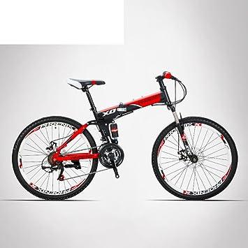 Viajes bicicleta de 21-velocidad Bicicleta de montaña plegable Off-road Adultos estudiantes Hombres