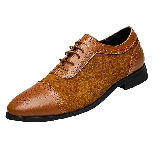 ESAILQ -Náuticos de Piel para Hombre | Náuticos Hombre Verano | Zapatos Náuticos Hombre |