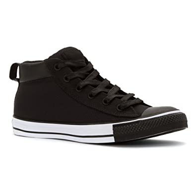 Converse All Star Chuck Taylor Street Mid Uomo US 11.5 Nero