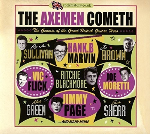 Axemen Cometh: Birth Of The Great British Guitar (The Best Of Cliff Richard And The Shadows)