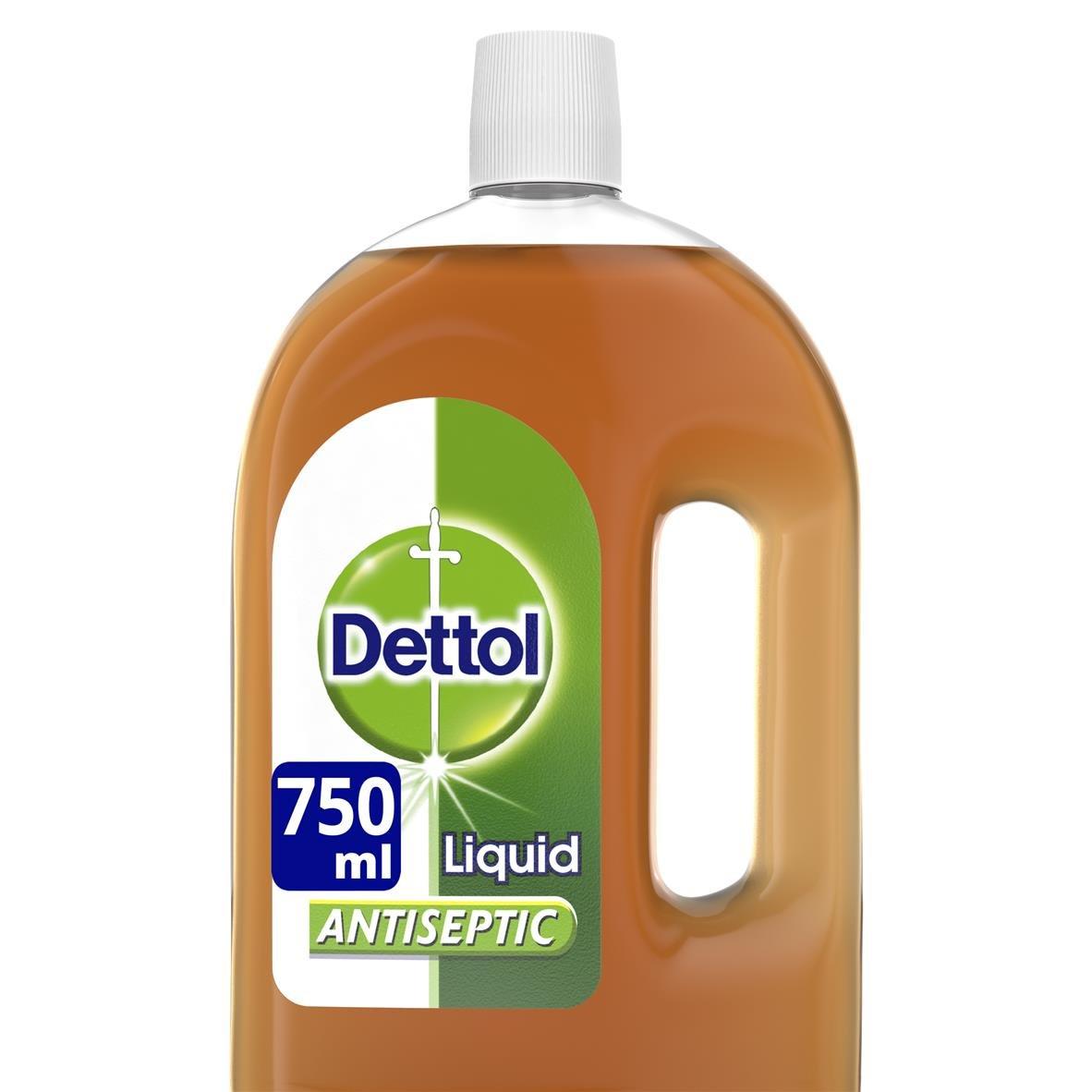 Dettol Antiseptic Disinfectant Liquid (750ml)