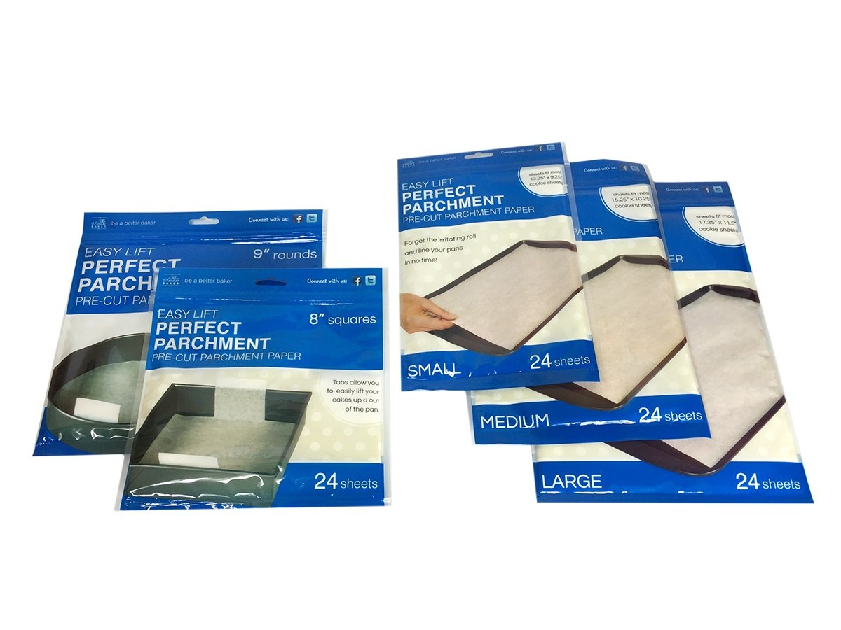 The Smart Baker''As Seen on Shark Tank'' Perfect Parchment Bundle by The Smart Baker