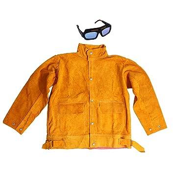 perfk Traje de Soldadura Gorra Protectora Ropa Soldador Herramientas Industrial Material Educativo - 4: Amazon.es: Oficina y papelería