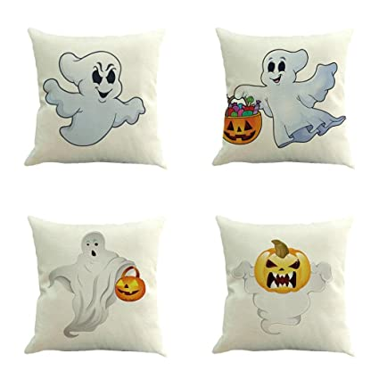 Amazon Halloween Decorations Pillow Covers 40x40 Gotd Cute Adorable Decorating Pillow Cases