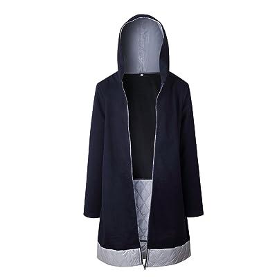 L'éclair Intégrale Des Blousons À Capuchon Un Hiver Vêtements Manteaux