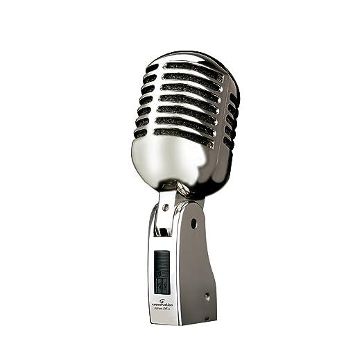 12 opinioni per SOUNDSATION ICON 50's microfono vintage classico switch ON/OFF per canto voce