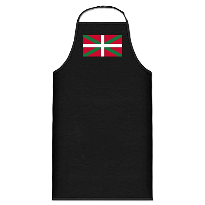 Nodshop-Delantal de cocina, país vasco by Shirtcity negro: Amazon.es ...