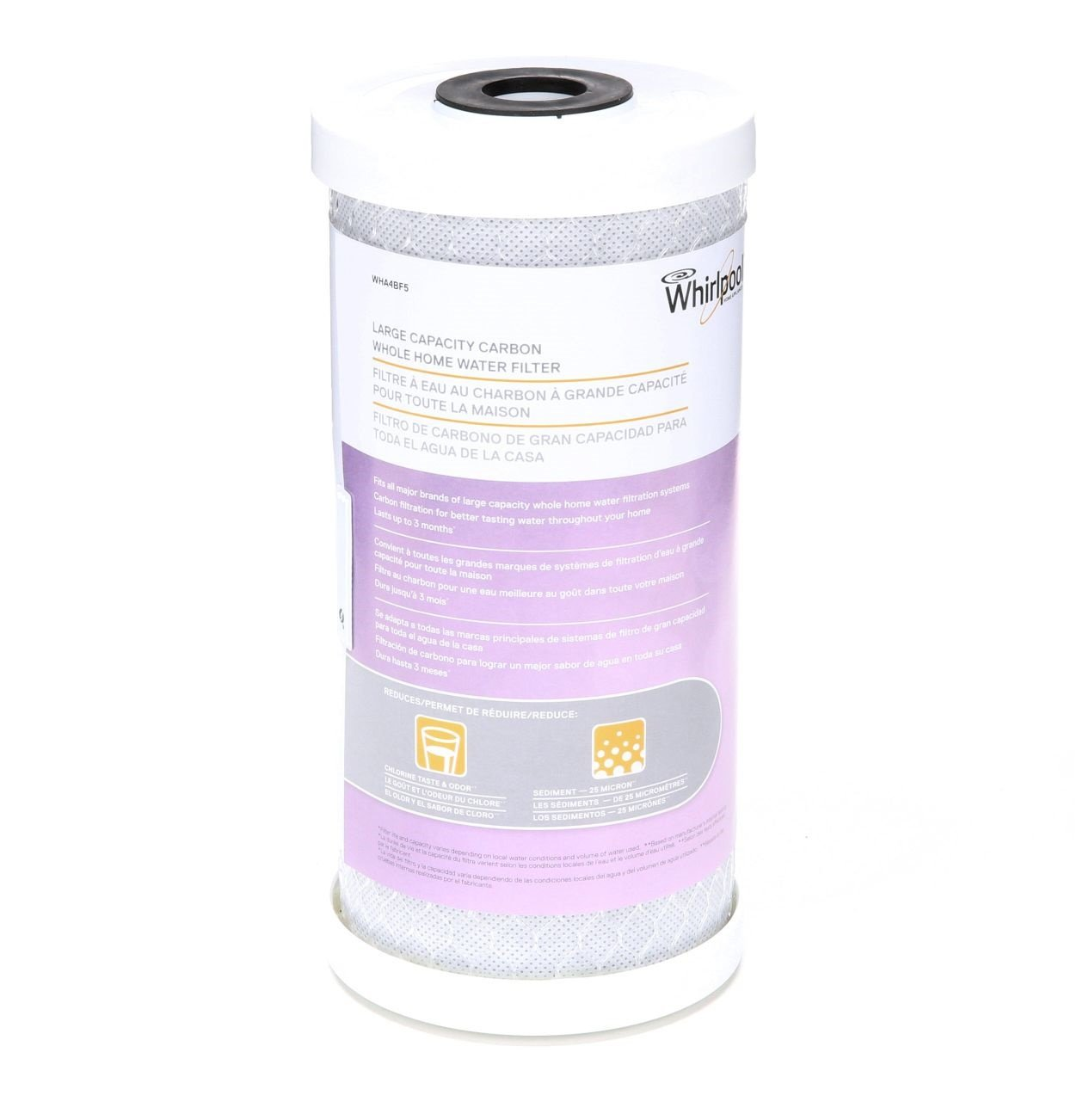 Whirlpool WHA4BF5 Large Capacity Carbon Whole Home Replacement Water Filter