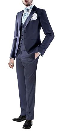 Suit Me Tailored Hombre 3 Piezas Traje de Negocios Traje ...