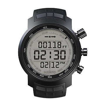 Suunto - Elementum Terra - SS018732000 - Reloj deportivo - Black Rubber (Negro) - Display fondo claro: Amazon.es: Deportes y aire libre