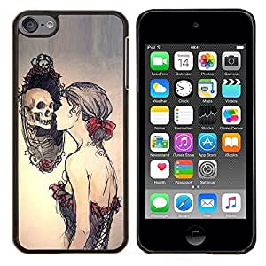 Planetar® ( Espejo profundo Pretty Woman Significado ) Apple iPod Touch 6 6th Touch6 Fundas Cover Cubre Hard Case Cover