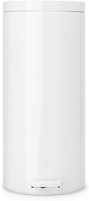 Amazon.com: Brabantia 0,7 galones/3 litros Pedal papelera ...