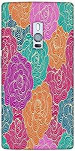 Snoogg Seamless Hand Drawn Waves Texture Designer Protective Back Case Cover ...
