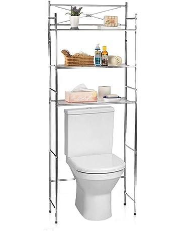 IDIMEX Etagere De Salle Bain MARSA Meuble Rangement Au Dessus Des Toilettes WC