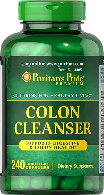 Amazon.com: Puritan s Pride Colon cleanser-240 °Cápsulas ...