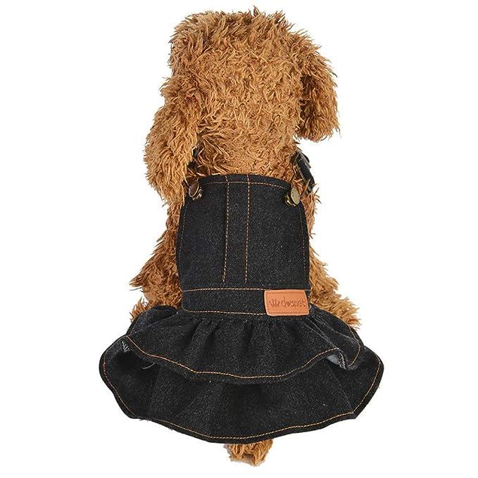 Amazon.com: Disfraz de cachorro para cachorro, vestido ...