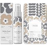 Nabia Pearl Face Sheet Mask(5 sheets) + Pearl Face Mist(3.38 Fl oz.) Set