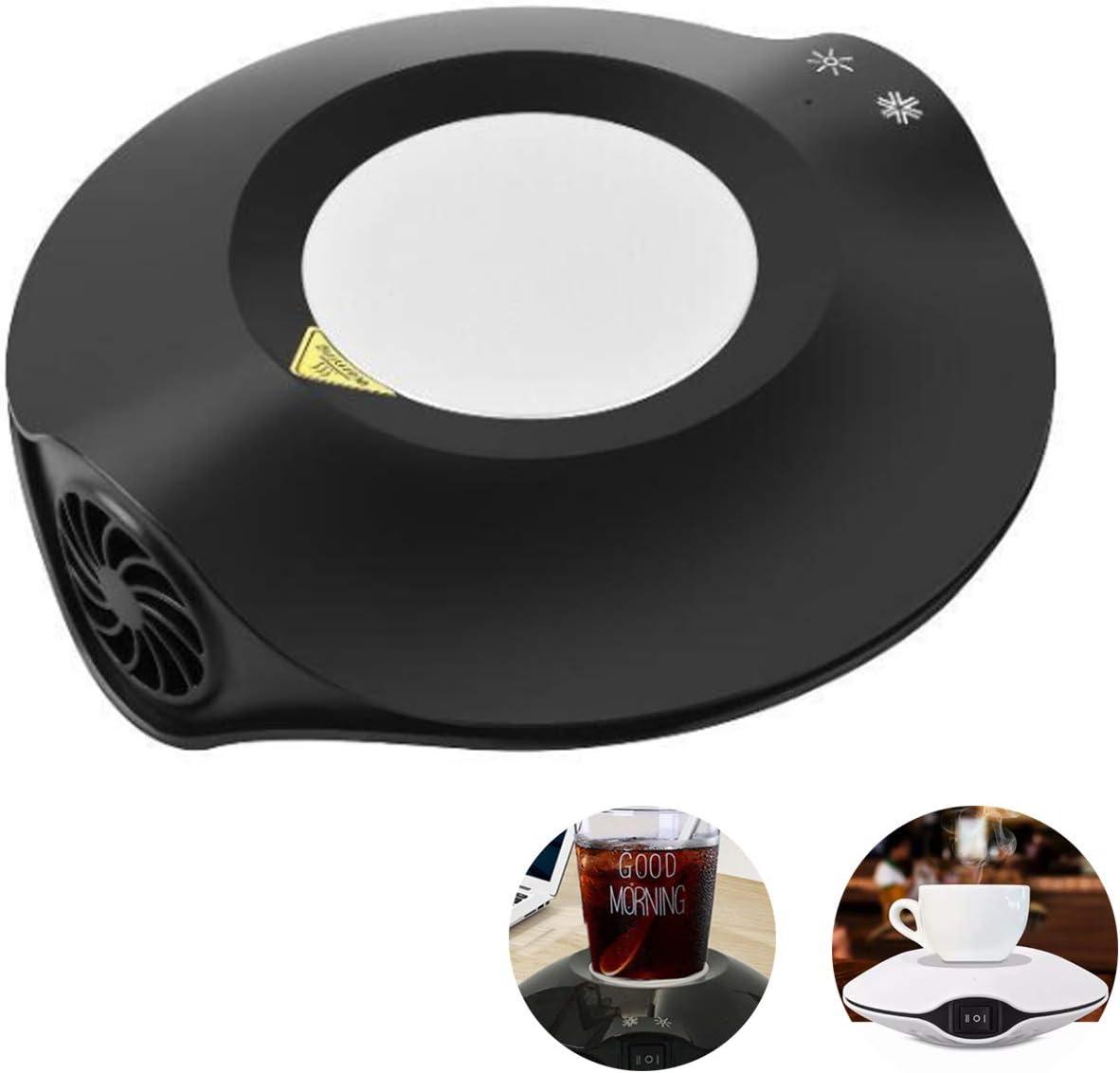 USB コースター 冷却 加熱 冷熱両用 カップホルダー 10℃~70℃ 車用&家庭用