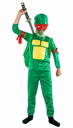disfraz de reptil ninja talla 5-6: Amazon.es: Ropa y accesorios
