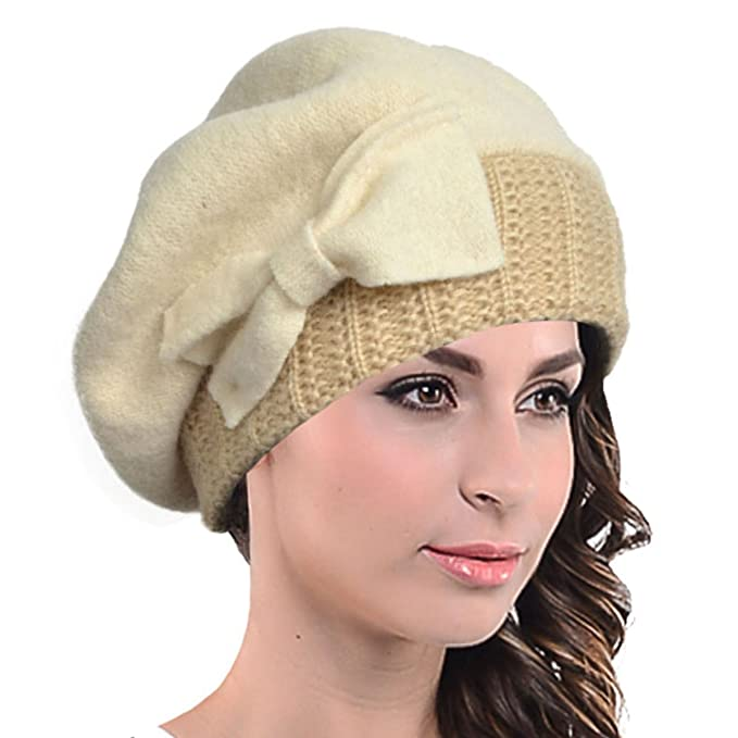 fa2ea3415efed HY022 Boina de lana francesa para mujer