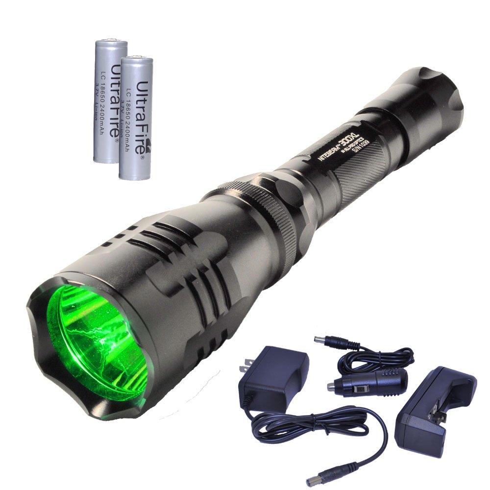Nitebeam 300XLG - 4 in1 High power Green CREE LED hunting flashlight