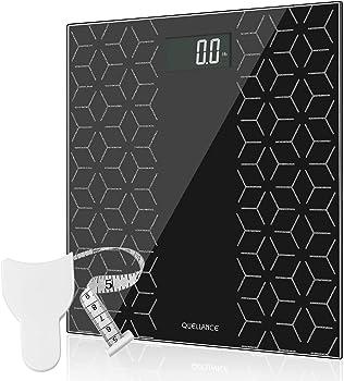 High Precision Digital Bathroom Scale with Large Backlit Display