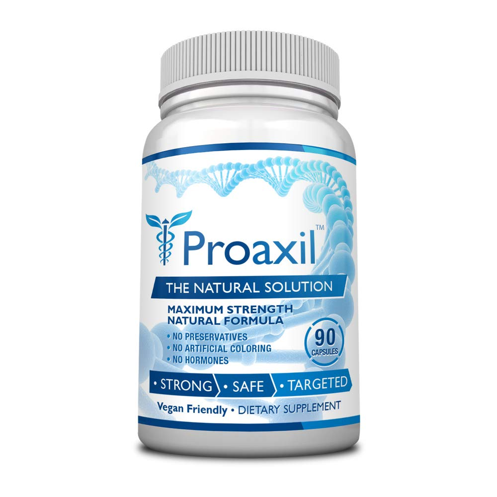 Proaxil - #1 Choice for Prostate Health - 1 Bottle - Improve Overall Prostate Health, Urine Flow and Sexual Performance. With Zinc, Saw Palmetto and Beta Sitosterol
