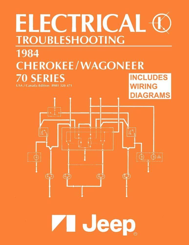 1984 jeep cherokee wiring diagram amazon com bishko automotive literature 1984 jeep cherokee  bishko automotive literature 1984 jeep