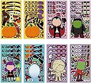 Halloween Decorations Stickers for Kids,DIY Make Your Own Halloween Decor,Door Handle Ornaments,Halloween Acti